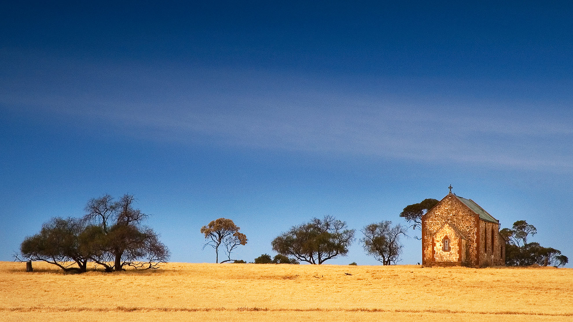 A Catholic Chapel in Outback Australia