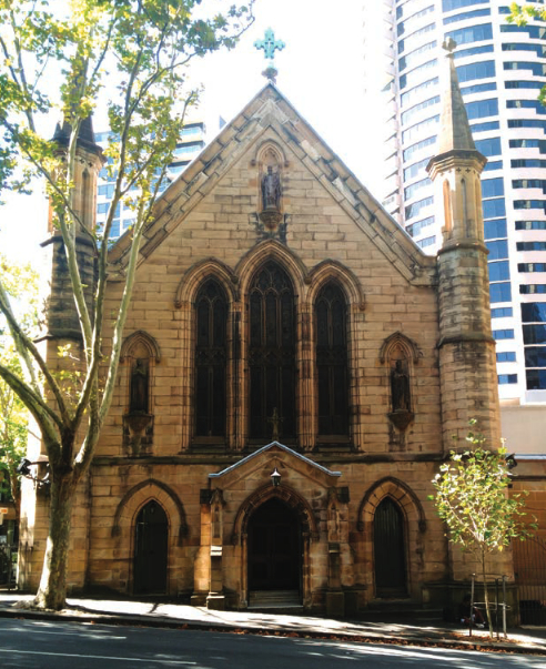 St Patrick's church in Sydney, NSW.