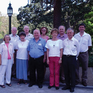 The australian catholic historical society council in 2005