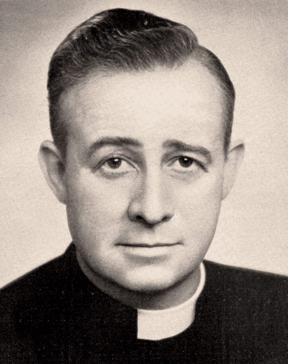 Fr later Archbishop Eris OBrien one of the society founders